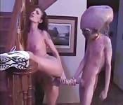 XXX files: Neuken met een alien
