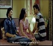 Hot Bollywood threesome