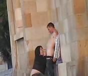 Untreue australische Ehefrau mit einem schwedischen Touristen