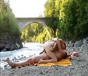 Experieência sexual ao ar livre
