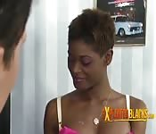 Sexo interracial con hermana