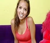 Geile mexikanische Teenagerin