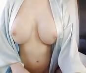 He fucks the perfect-tits masseuse
