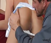 Rahyndee likes to role-play with her stepdad