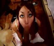 Latina safada quer um pau