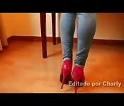 Eine perverse, geile Latina