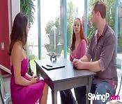 Eine Amateur Swinger Party