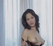 Maravilhosa masturbação asiática