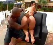 Porno brasileño interracial anal