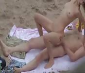 Erwischtwerden am Strand