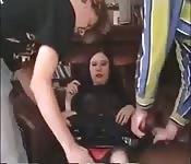 Scena di sesso a tre con Moretta