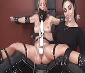 BDSM lesbian master and slave fun