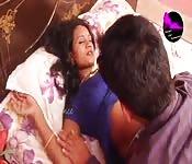 Casal indiano fazendo safadeza
