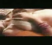 Belle salope qui aime le sperme sur son visage