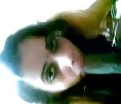 Heißes Mädchen mit Bindi