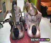 Erotisch heißer Gruppensex
