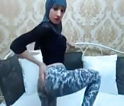 Webcam sexy en Hijab