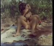 Vintage Duits safari neuken