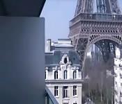 Fodendo em um hotel ao lado da Torre Eiffel