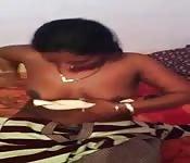 Stripping MILF