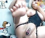 Eyaculando frente a la webcam