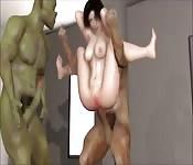 Tifa versus Orges