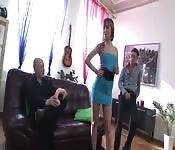 DP avec Grace la pornstar russe sexy