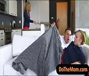 Cory Chase and Bailey Brooke horny FFM
