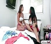 Kelsi Monroe makes a hot threesome