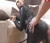 Il suo grosso culo rotondo
