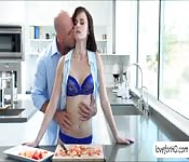 Jayden Taylors hat erotischen Sex am Morgen