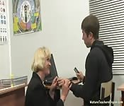 russian milf screwing student