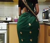Nice Indian Ass in the kitchen