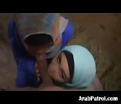 Arab Hooker Blowjob Team Sucking Dick