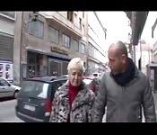 Granny blonde sex
