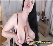 Busty Big Ass Goddess Enjoys Hard DP