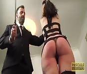 Bondage baisant sa maîtresse