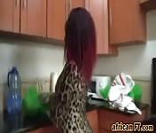 Ebony big ass mama bareback