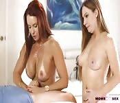 Zwei Teenienutten