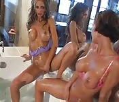 Porno suave con lesbianas maduras