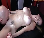 Chaudasse dans un massage coquin et sensuel