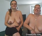 A Pair Of Crack Whores Sucking Dick