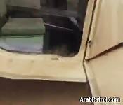 Arab Hooker Sucking Off Black GI