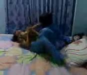 Indian Girls Playing Around