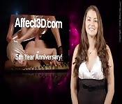 La nuova edizione di Affect3d news con Allie Haze
