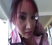 Katsuni reçoit une double baise anale