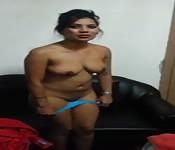 Une danse du ventre venant d'Inde