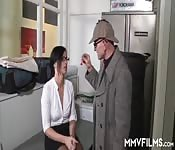 Drilling a cheating wife