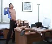 Ostry seks w mediolańskim biurze