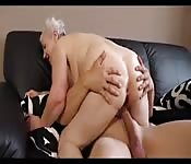 Grannie Fucks Young Man